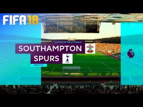 FIFA 18 - Southampton vs. Tottenham Hotspur @ St. Mary's Stadium