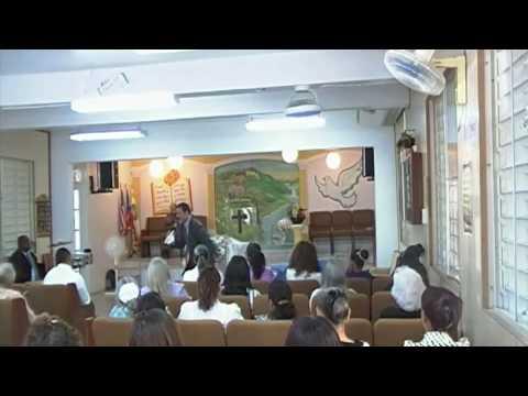Evang. ANIBAL MERCADO Preaching in Puerto Rico