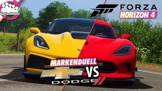 FORZA HORIZON 4 - MARKENDUELL: CHEVROLET vs DODGE - Forza Horizon 4 MULTIPLAYER