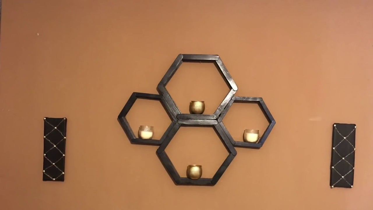 DIY Wall Art Black Leather Faux Tufted Wall Art - With Loop ...