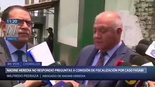 Declaraciones de los abogados de Nadine Heredia y Ollanta Humala