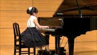 平成27年3月28日 ピアノ発表会 小学4年生(10 years old)