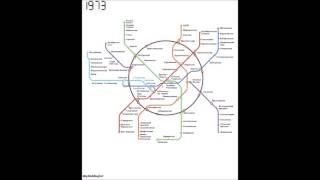 видео Схема Московского метро
