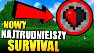 NOWY NAJTRUDNIEJSZY SURVIVAL - MINECRAFT PIEKŁO #1 | Minecraft Challenge