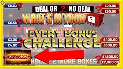MASSIVE ONLINE Deal or No Deal with JACKPOT KING!!