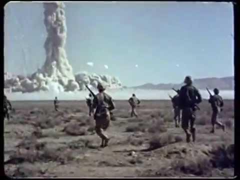Atomic Bomb Test on human subjects