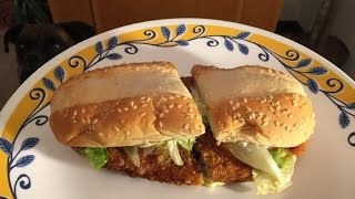 Burger King Teriyaki Original Chicken Sandwich Review