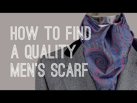 Scarf Guide - How To Buy Quality Men's Scarves
