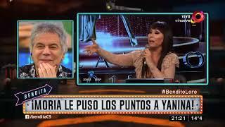 ¡Moria le puso los puntos a Yanina!