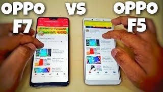 Oppo F7 Vs Oppo F5 Speed Test | Oppo F5 Vs Oppo F7 Speed Test