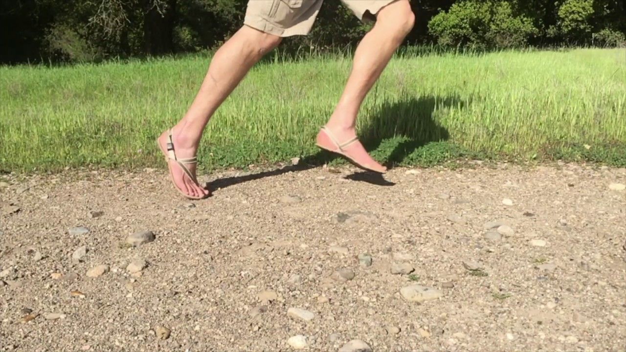 4fe51d6639d100 Trail Running in Earth Runners Sandals - YouTube