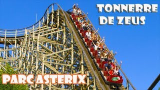 Parc Astérix : TONNERE DE ZEUS  Onride ( Paris, France  2017) C'est vraiment cool