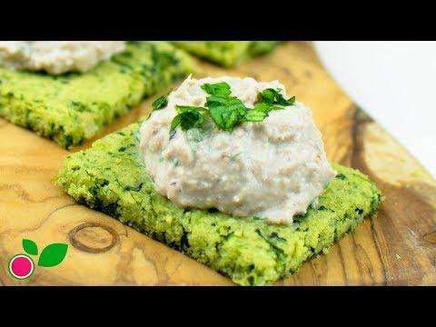 🍃🐟 Galletas de Espinacas con Paté de Atún | Saludables | Low Carb | Yo +Green