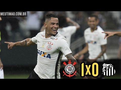 Corinthians 1x0 Santos - Brasileirão 2016 - 01/06/2016 - Melhores Momentos