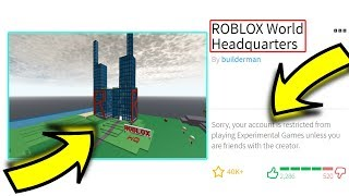 Roblox BROKE and DESTROYED ALL OLD GAMES!! (New Update)