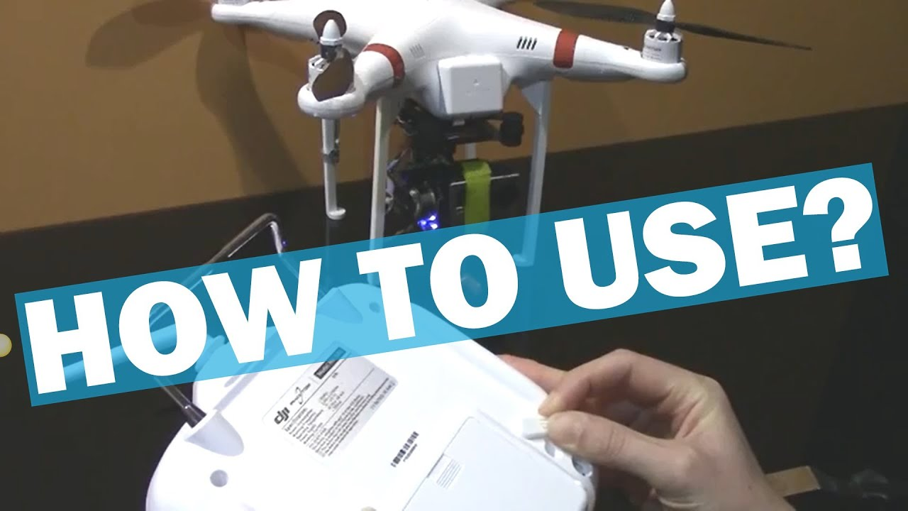 Pitch Control Lever for DJI Phantom - YouTube