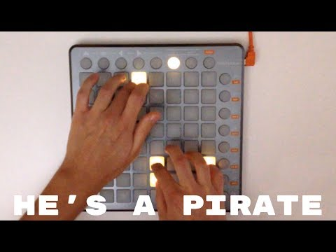 He&39;s a pirate  Launchpad S piano Cover