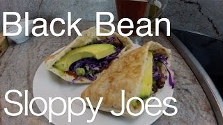 Black Bean Sloppy Joes Quick And Easy Recipe