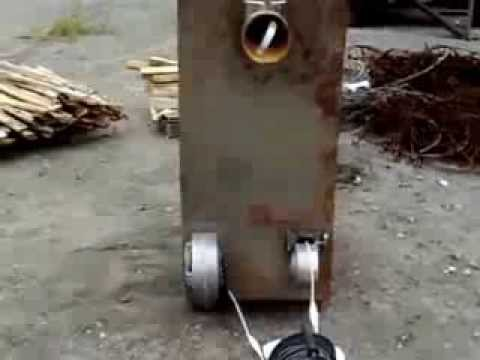 Пиролизный теплогенератор
