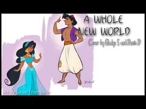 aladdin-|-a-whole-new-world---mena-massoud,-naomi-scott-(cover)