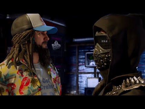 Watch Dogs 2 Mission 14 R&R (Looking Glass)
