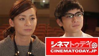 映画『君はいい子』で主演を務めた高良健吾と尾野真千子がシネマトゥデ...