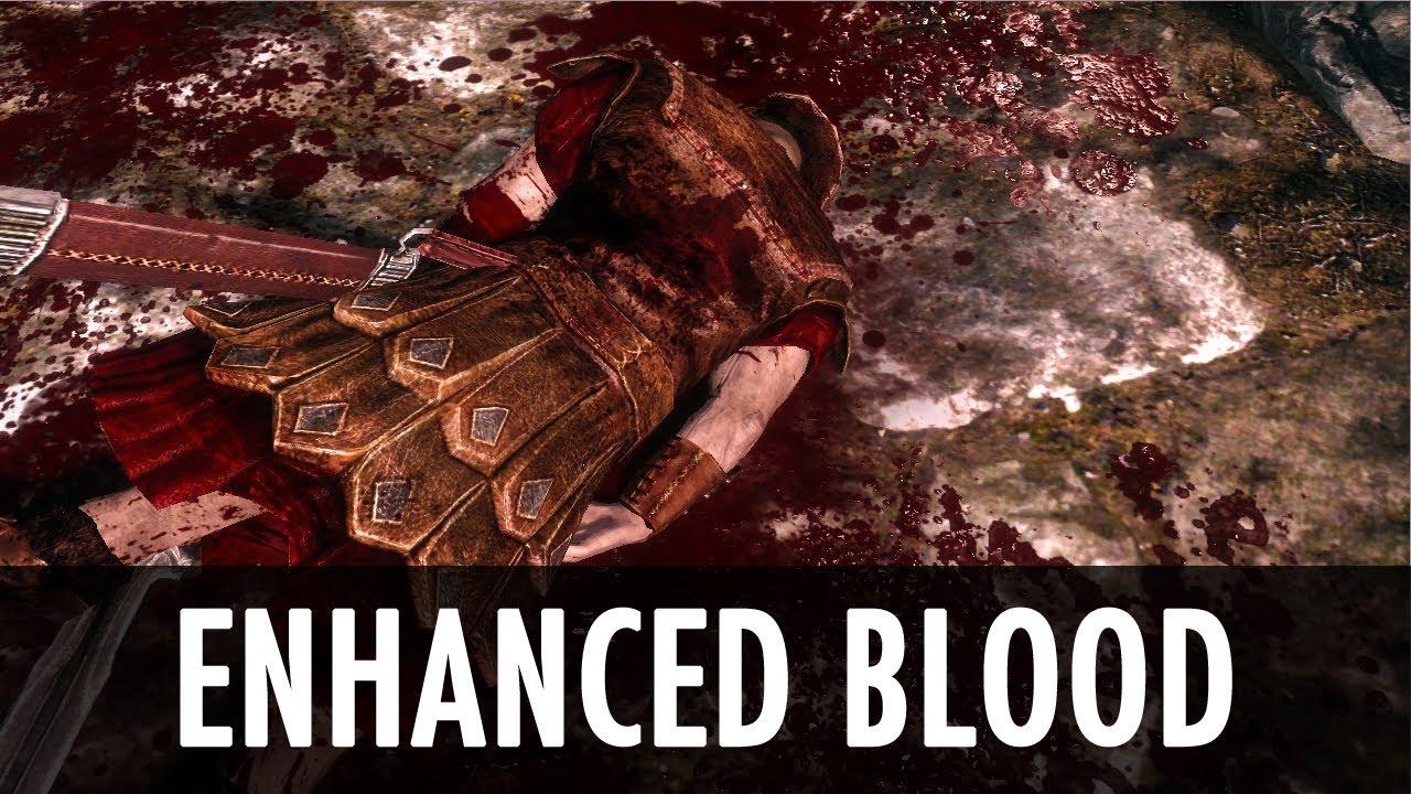 enhanced blood textures skyrim