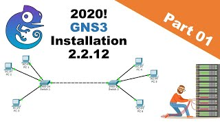GNS3 2.2.12 Series(2020) Part 1 - Setting up GNS3 2.2.12 with GNS3 VM for VMWare Workstation