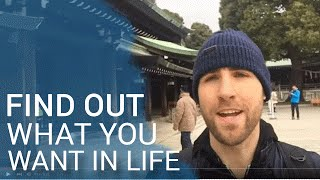 Video How To Find Out What You Want In Life (Setting Goals) download MP3, 3GP, MP4, WEBM, AVI, FLV November 2017