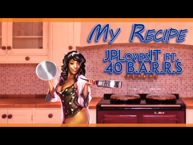 My Recipe | JPLovesIt ft. 40 B.A.R.R.S (Official Lyrics Music Video)