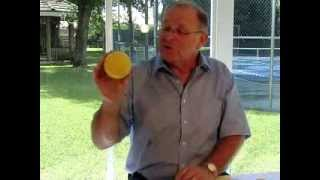 Various type of Foam Tennis balls by Jacques Leriche, Belgium Federation Technical director