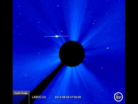LASCO C3 (2013-08-25 17:30:07 - 2013-08-26 16:08:48 UTC)