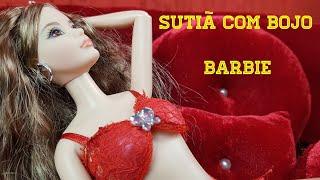 Como fazer Sutiã com Bojo para bonecas