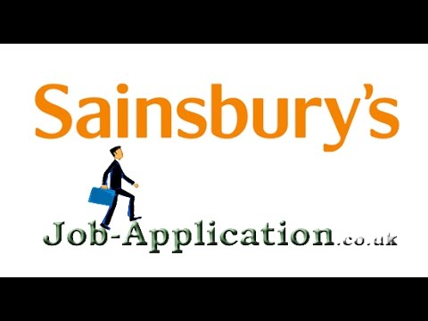 Sainsbury's Job Application Process Online