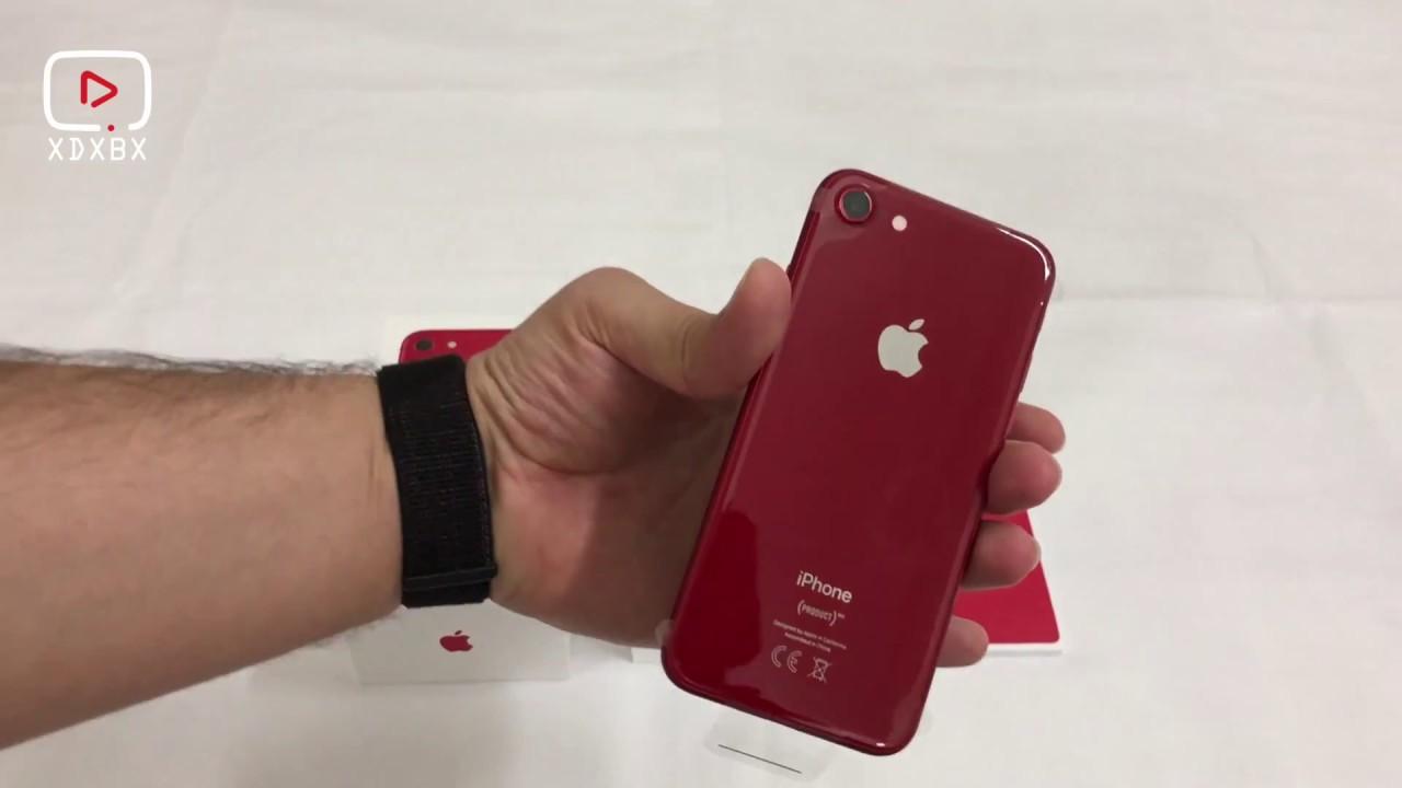 جديد أبل الأيفون 8 الأحمر Iphone 8 Product Red Youtube