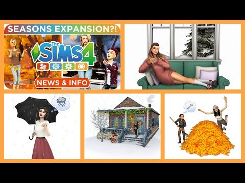 The Sims 4 Seasons or Weather Is The Next Expansion Pack - EA Confirmed - ☀️🍁❄️🌻 — News and Info
