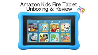 Amazon Kids Fire Tablet Unboxing