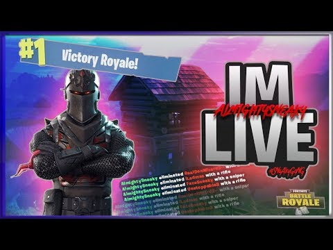 FORTNITE BATTLE ROYALE | #1 RANKED ON LEADERBOARD ~ 456 SOLO WINS ~ 8800+ KILLS SPONSOR GOAL 150/175