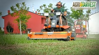 Kubota F3560 | Gianni Ferrari SR330 DW | Little machines for big works | Lawn mowing | 4K