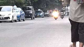 Drag Honda BeAT POP vs Yamaha Jupiter Z Sesi 1