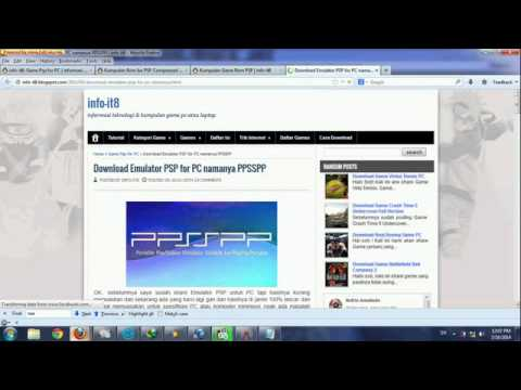 Download Game Iso PSP Highly Compressed