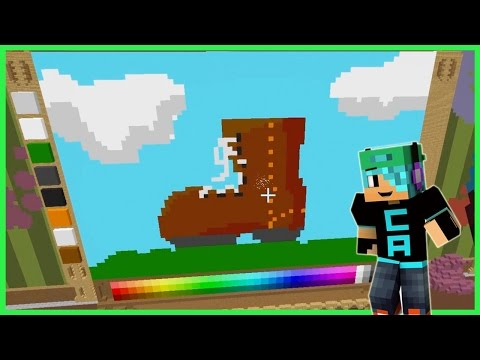 Pixel Painters - Painting Challenge on Hypixel - Minecraft