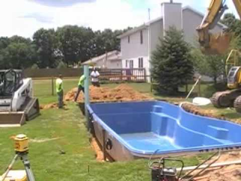 Leisure Pool Installation Loop Video - Leisure Pool Installation Loop Video - YouTube