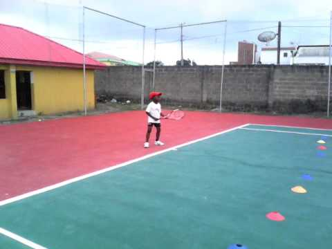 YOUNG TENNIS STAR