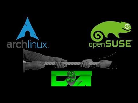 Arch Linux & OpenSUSE Tumbleweed - Rolling Distro Showdown