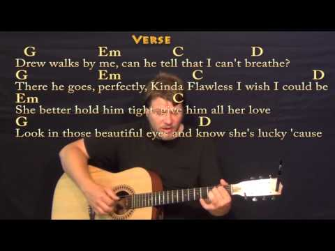 Teardrops on My Guitar - Fingerstyle Guitar Cover Lesson with Lyrics / Chords