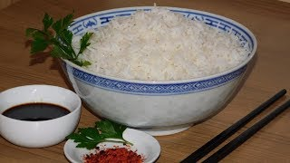 Рассыпчатый рис. И на следующий день рассыпчатый рис.