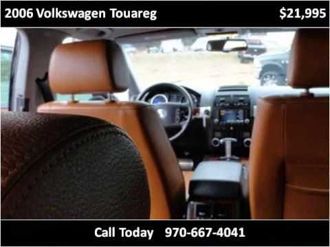 2006 volkswagen touareg used cars fort collins co youtube. Black Bedroom Furniture Sets. Home Design Ideas