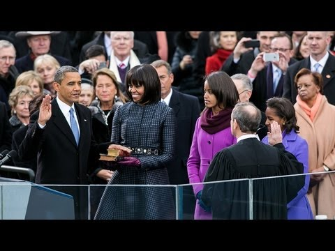 President Obama Delivers His Second Inaugural Address
