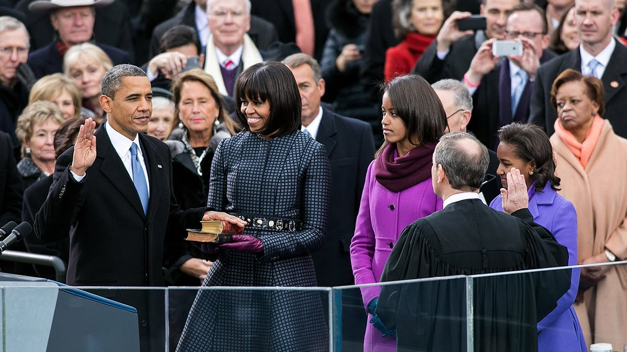 Image result for obama second inauguration